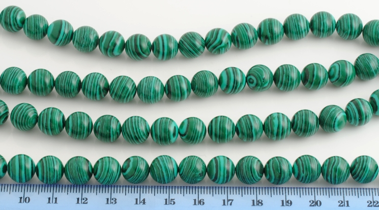 MALACHITE ARTIFICIALE PALLINA 10MM